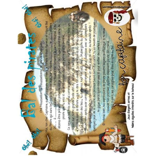 Halloween Bal du Pirate, 9  docs. 50 pages