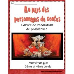 Cahier-RÉSOLUTION de PROBLÈMES:pays des contes