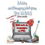 Liste orthographique en  FDL 2ème année