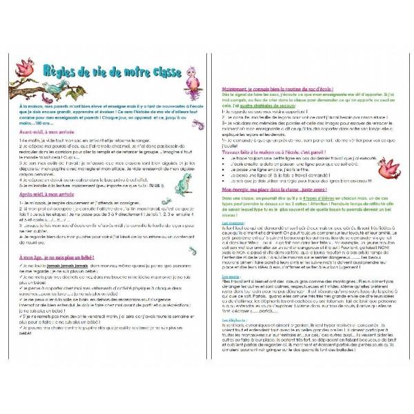 Règles de vie en classe