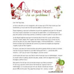 Compréhension texte: Cher petit papa Noël