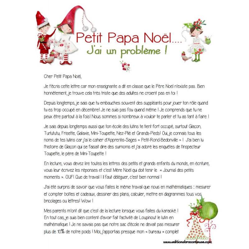 Compréhension Texte Cher Petit Papa Noël