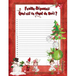 Super rallye chansons Noël Jour de l'an !