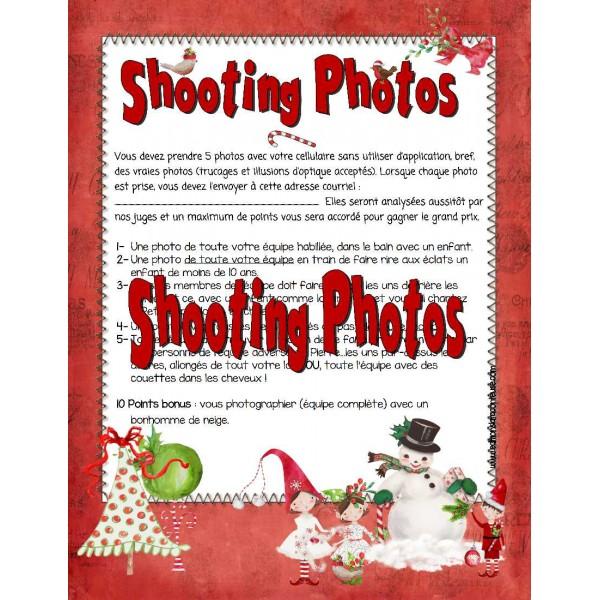 Jeu famille-amis: Shooting-Photos !