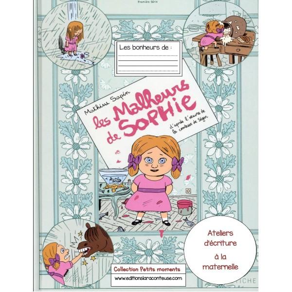 Cahier maternelle Ateliers Écriture Petits moments