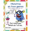 12 énigmes Halloween Monstres