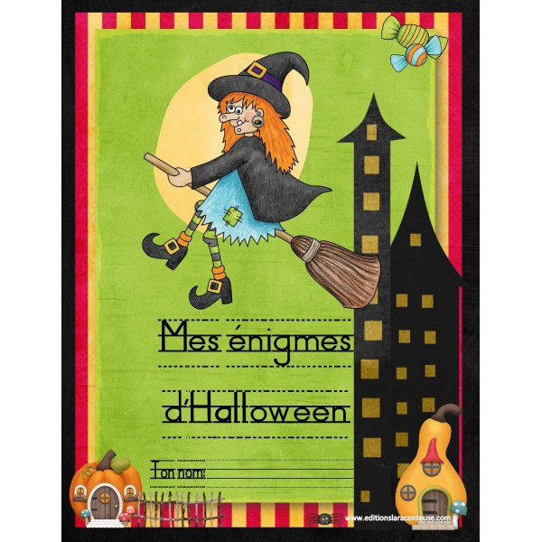 5 Énigmes Halloween 6-8 ans