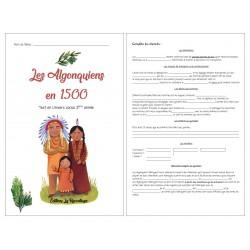 Écrire:informatif Incas,Algonquiens ou Iroquoiens