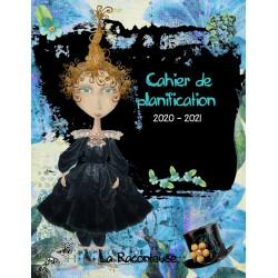 2020-2021 Cahier  planification/Relevé notes bleu