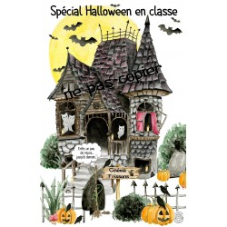 Spécial Halloween (poster et tickets)