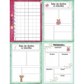 2021-2022 Cahier planification/Relevé notes Girafe