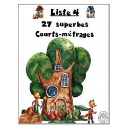 4ème liste : 27 Courts-métrages superbes !