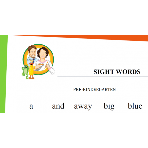 Sight words K1