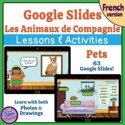 Les Animaux de Compagnie Google Slides ™