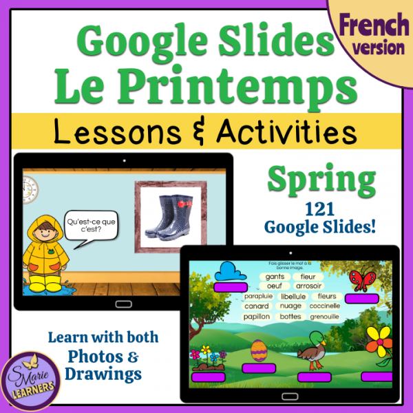 Le Printemps Google Slides™