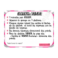 Ateliers carte-à-tâche +Tabata!!!