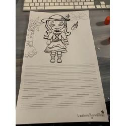 Feuille d'écriture-pirates-Légal