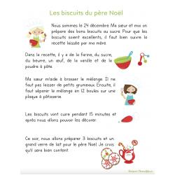 Texte+questionnaire Les biscuits du père Noël