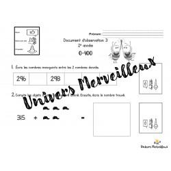 Document d'observation#3-mathématique 2e année