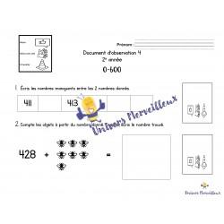Document d'observation#4-mathématique 2e année