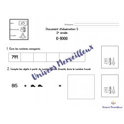 Document d'observation#5-mathématique 2e année