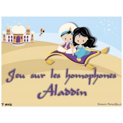 Jeu- Aladdin et les homophones-primaire