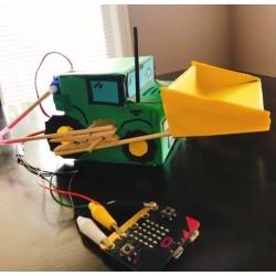 Robotique- Fabrication d'un tracteur robotisé