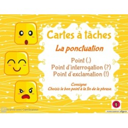 CAT- La ponctuation