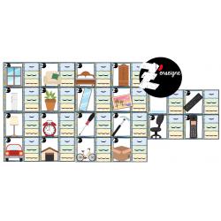 Cartes syllabes - Les objets de la maison
