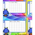 28 cartes à tâches, math, primaire