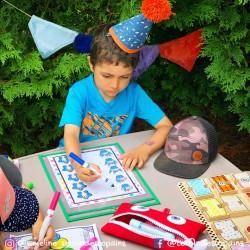 les petits cupcakes à compter - anniversaire