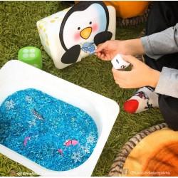 jeu- nourrir le pingouin