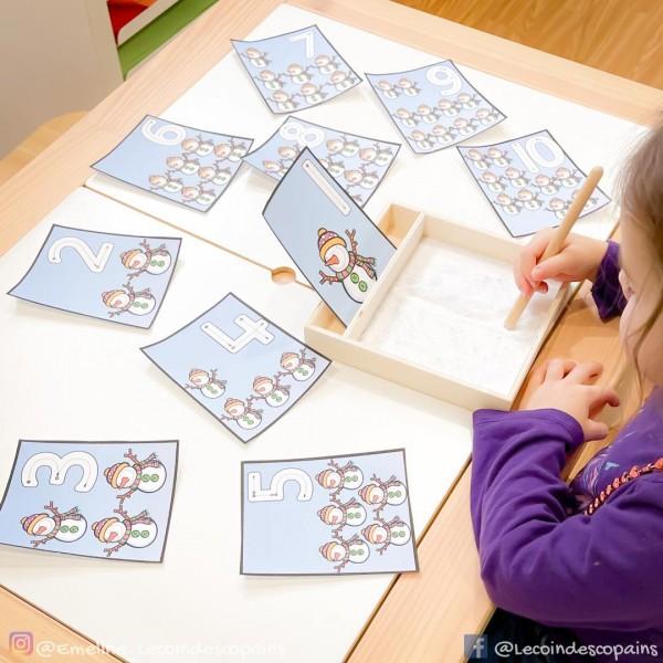 cartes à compter
