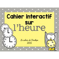 Cahier interactif sur l'heure