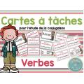 Cartes à tâches: Les verbes