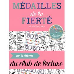 Médailles de la fierté: Club de lecture