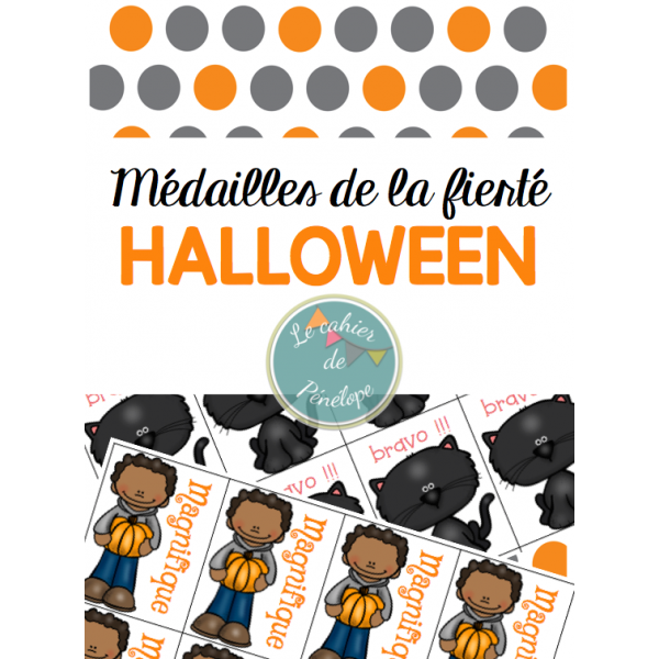 Médailles de la fierté-Halloween