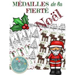 Médailles de la fierté-Noël