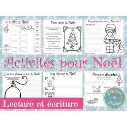 Activités de Noël (lecture et écriture)