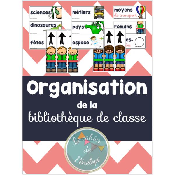 Organisation de la bibliothèque de classe