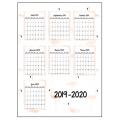 Planificateur 2019-2020 (4ème édition)