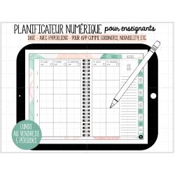 Planificateur numérique pour enseignants