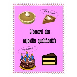 L'accord des adjectifs qualificatifs