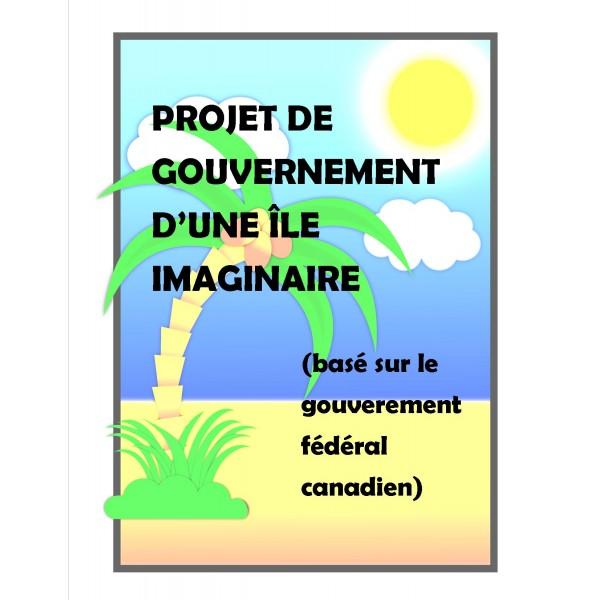 Projet de gouvernement d'une île imaginaire