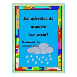 Adverbes qui se terminent en -ment