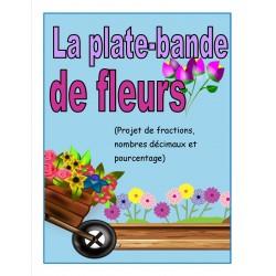 Projet de fleurs (fractions, nombres décimaux)