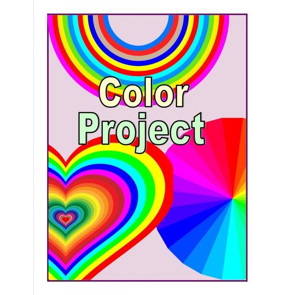 Projet de couleurs (anglais langue seconde)