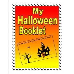 Mon livret d'Halloween (anglais langue seconde)