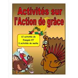 Activités sur l'Action de grâce