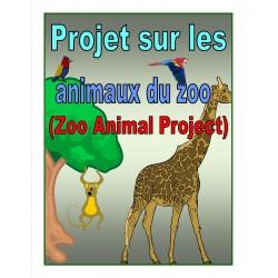 Projet sur les animaux du zoo (bilingue)